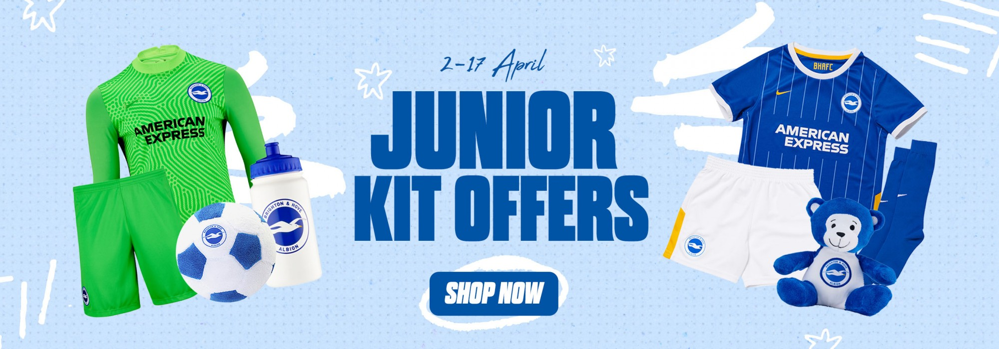 Junior Offers - Kit Bundles and sale!