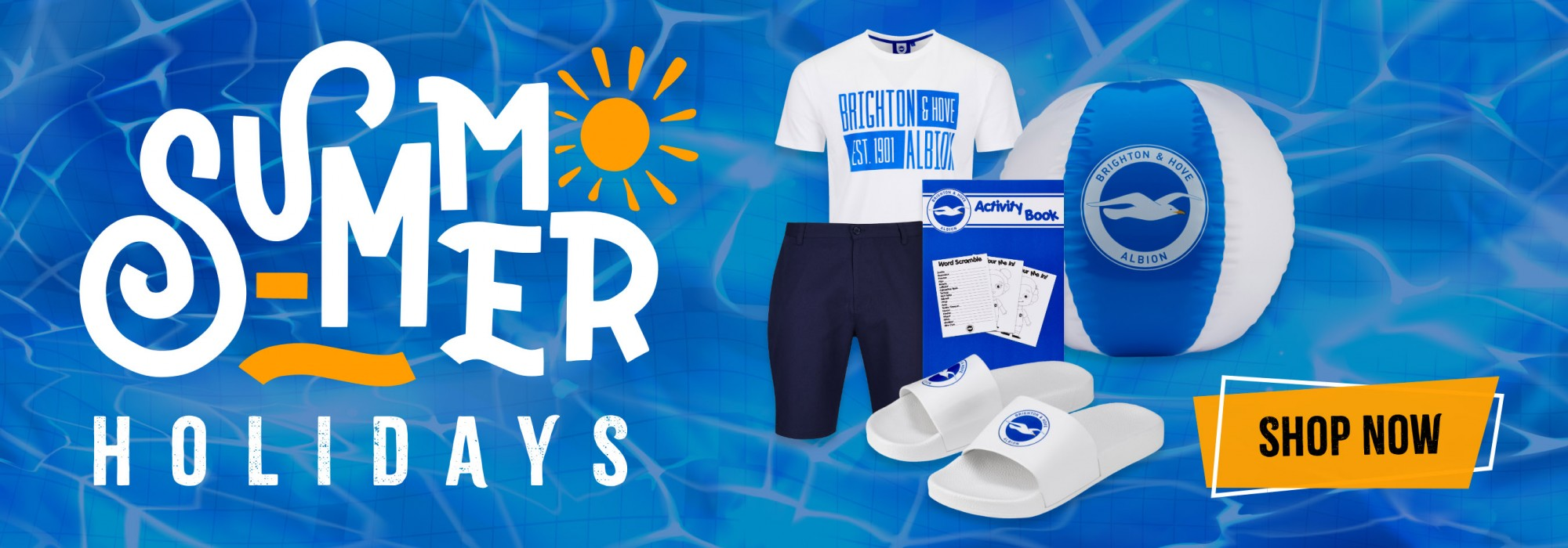 Get kitted out for the summer