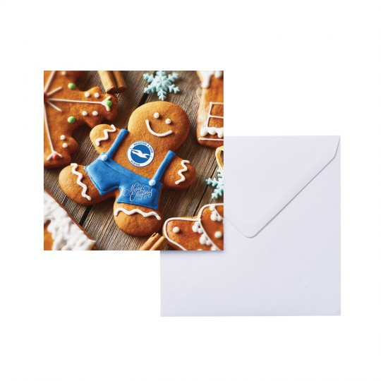 XMAS CARD - GINGERBREAD MAN