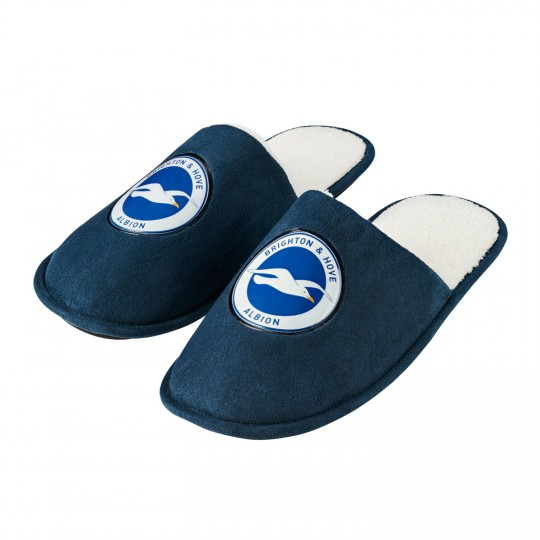 Adult Navy Slippers