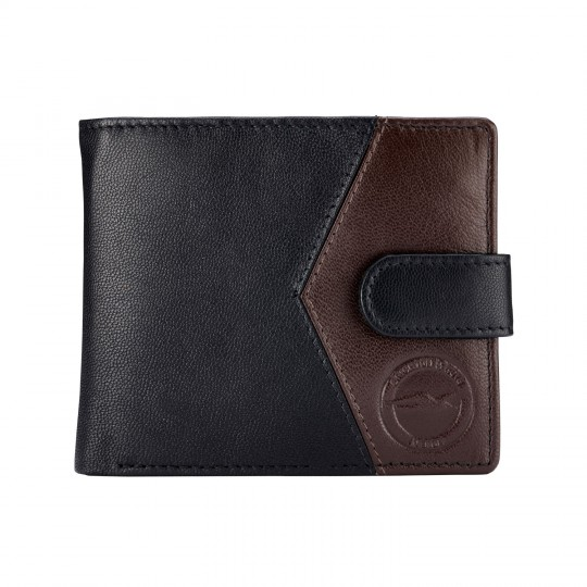 ARROW CONTRAST LEATHER WALLET
