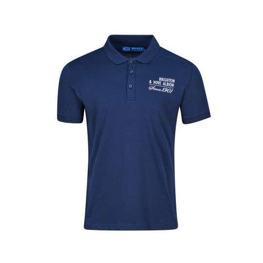 Navy Quebec Polo