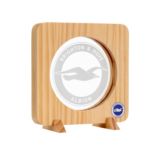 CREST WOODEN LED NIGHT LIGHT