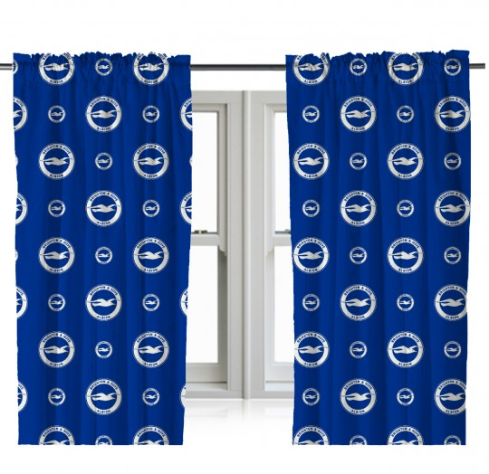 BHAFC Crest Curtain 54