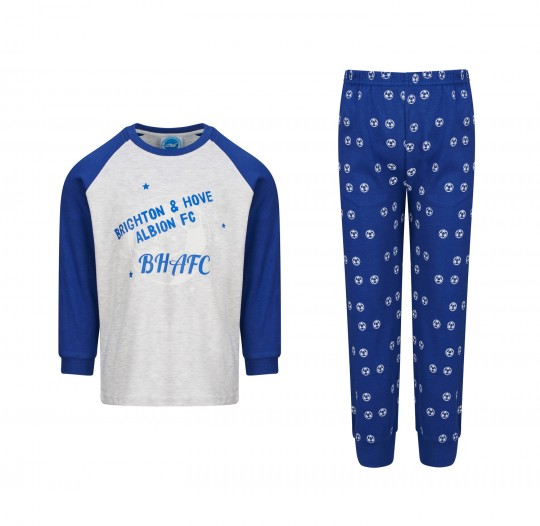 Blue Football PJ'S