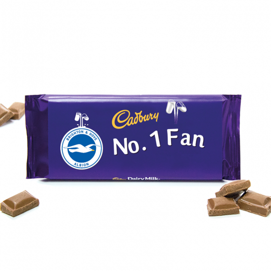 CADBURYS NO 1 FAN CHOCOLATE BAR