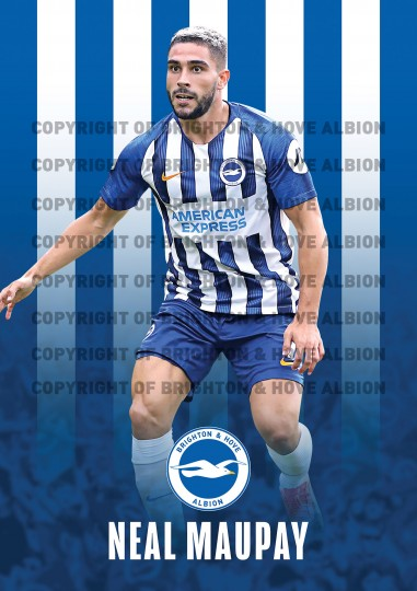 2019/20 Maupay Poster
