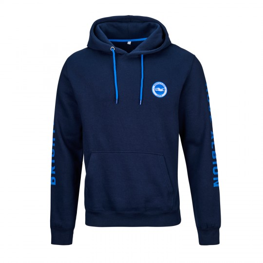 Navy Brighton & Hove Albion OH Hoodie