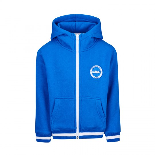 Junior Royal Crest Zip Hoodie
