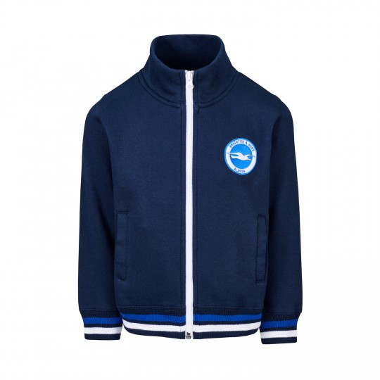 Junior Navy BHAFC Zip Jacket