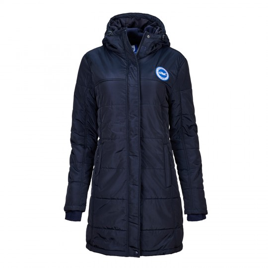 Womens Navy Rowling Jacket