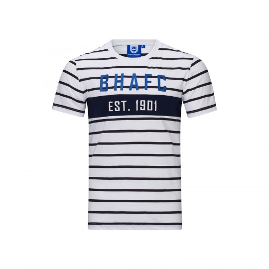 BHAFC Striped Panel Tee