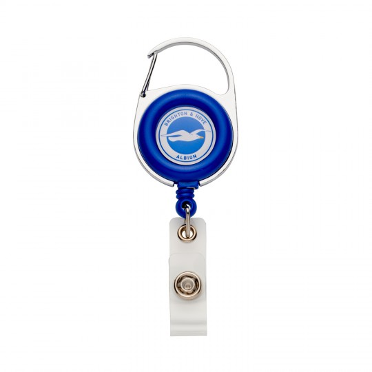 Retractable Crest Keyring