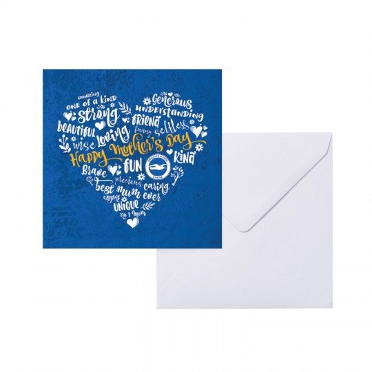 GREETING CARD - MOTHER'S DAY HEART