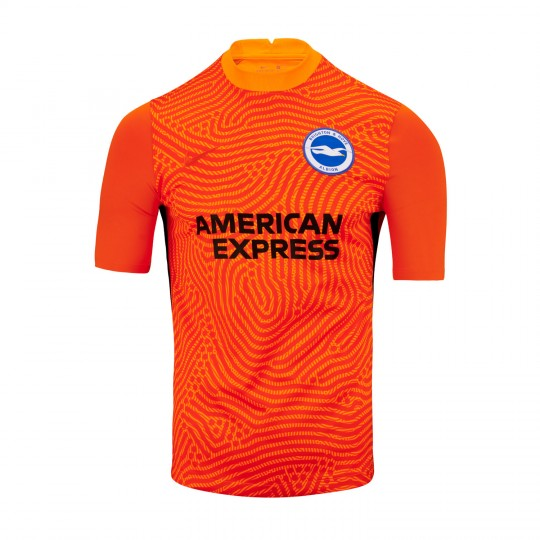 Adult 20/21 Orange GK Shirt - Short Sleeve