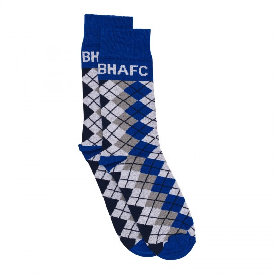 Royal Argyle Dress Socks