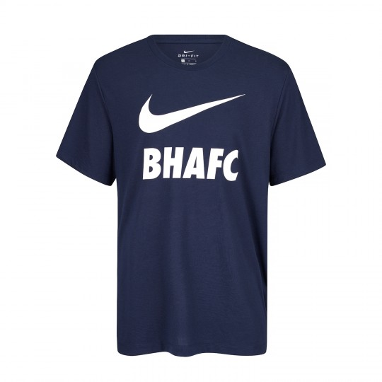 Youth Nike BHAFC Navy Swoosh Tee