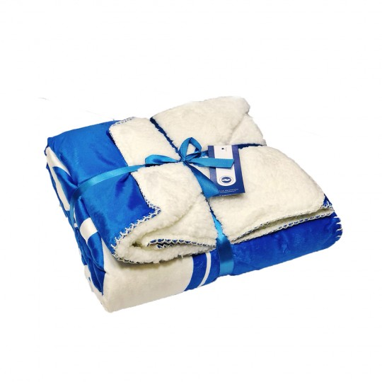 DELUXE SHERPA FLEECE BLANKET
