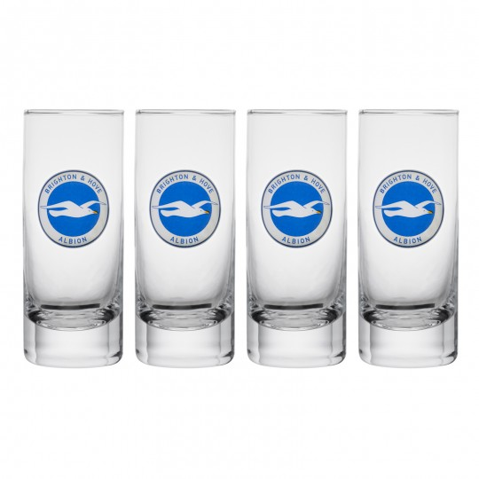BHAFC 4 Pack Shot Glasses