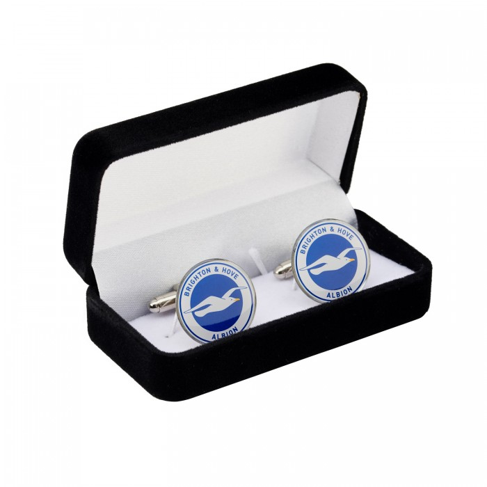 COLOUR CLUB CREST CUFFLINKS