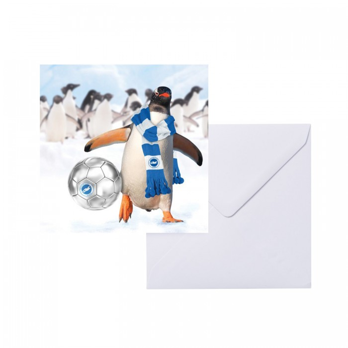 XMAS GREETING CARD - PENGUIN