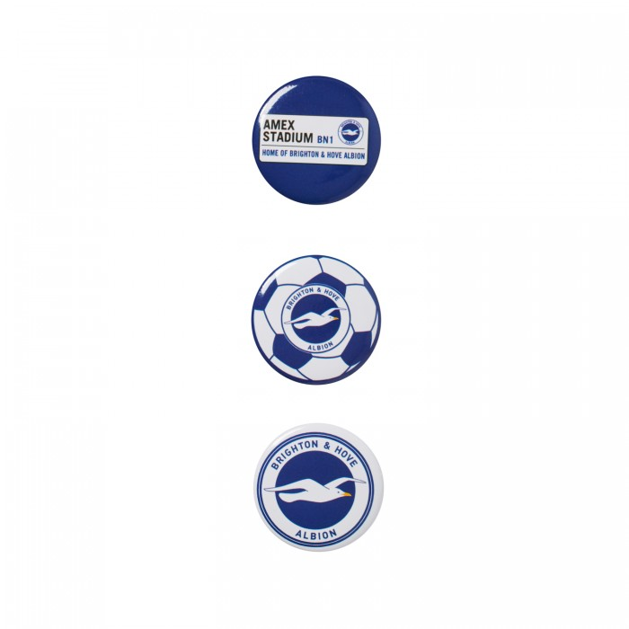3 PACK BUTTON BADGES
