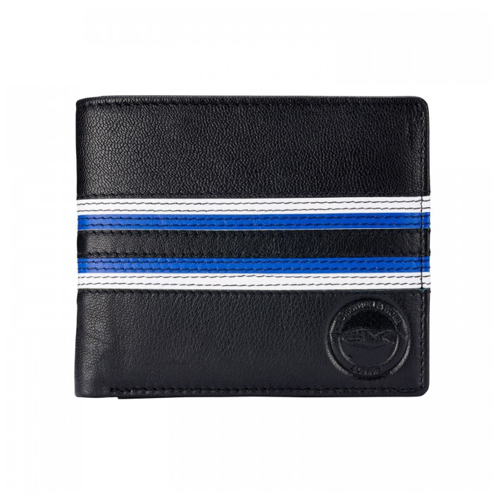 Colour Stitch Leather Wallet