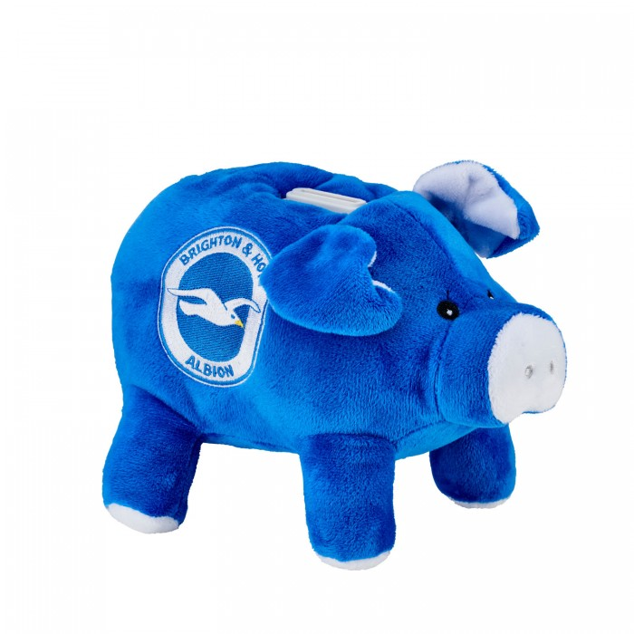 PLUSH PIGGY BANK MONEY BOX