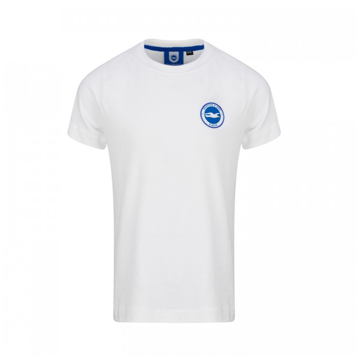 JUNIOR WHITE ESSENTIAL TEE