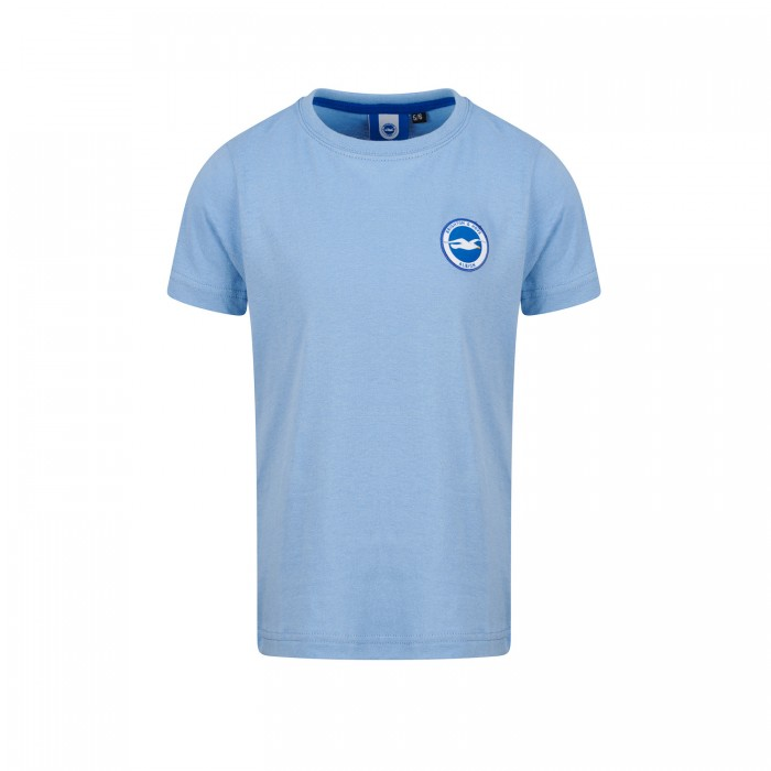 JUNIOR SKY BLUE ESSENTIAL TEE