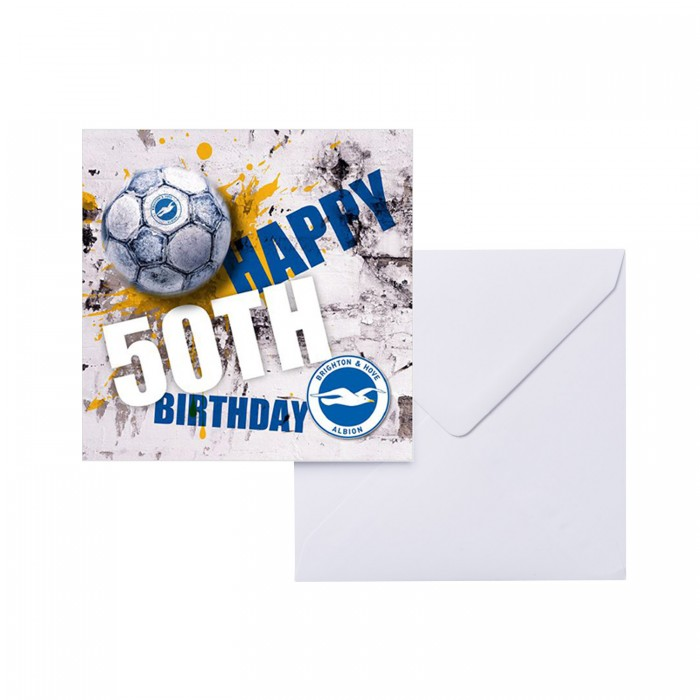 Birthday Card - 50th
