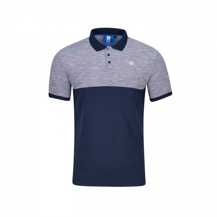 Navy & Grey Polo