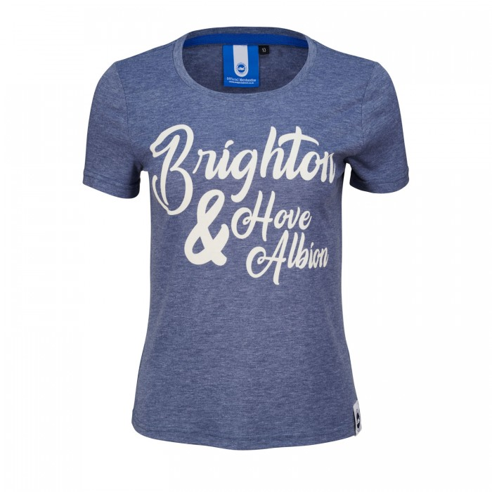 Womens Navy BHAFC Tee