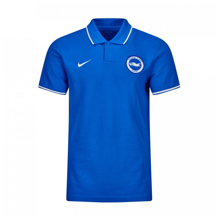 ROYAL NIKE CORE POLO