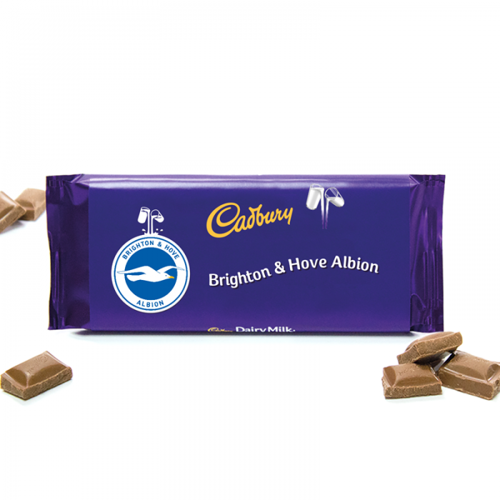 Cadburys Brighton & Hove Albion Chocolate Bar