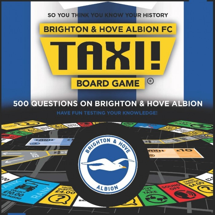 BHAFC Taxi Board Game