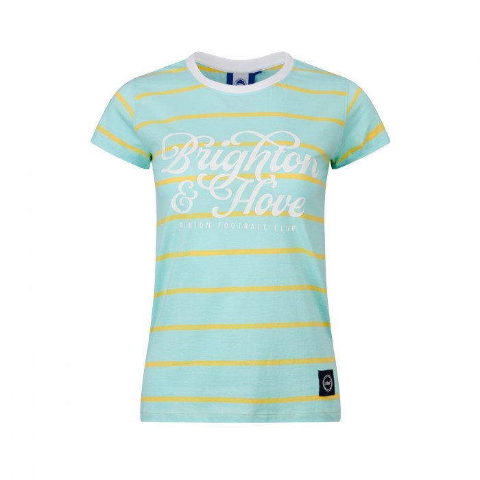 WOMENS BHAFC STRIPED TEE