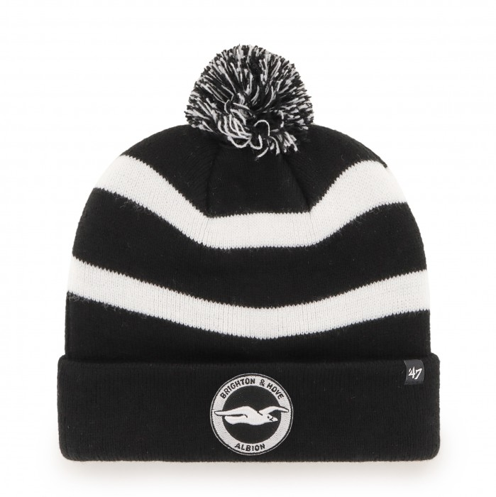 '47 BLACK BREAKAWAY CUFF KNIT HAT