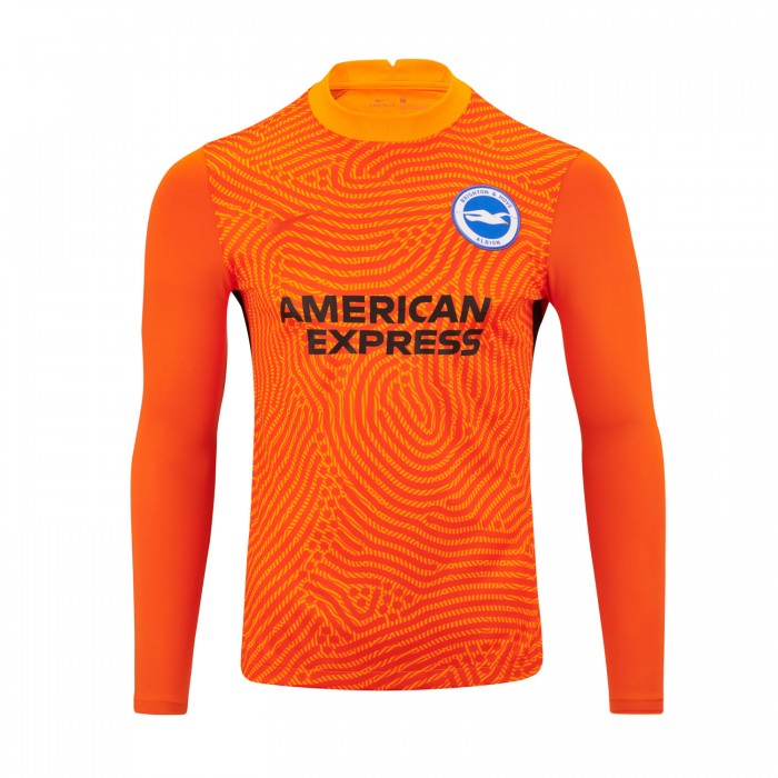 Adult 20/21 Orange GK Shirt - Long Sleeve