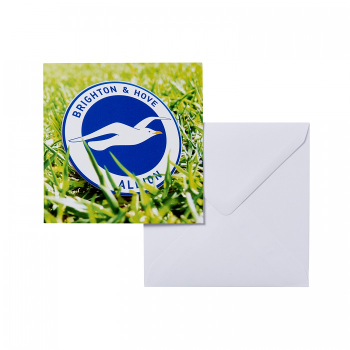 Greeting Card - Crest In Grass