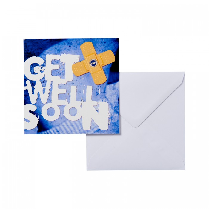 GREETING CARD - GET WELL SOON