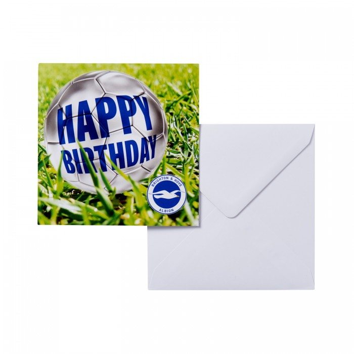 BIRTHDAY CARD -HAPPY BDAY BALL