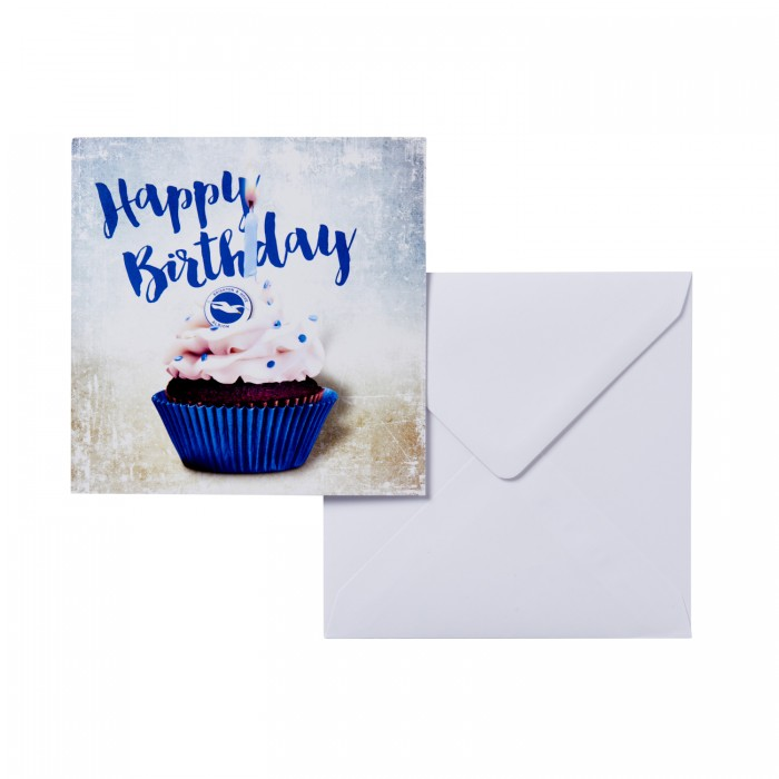 BIRTHDAY CARD - CUP CAKE