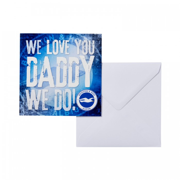 FATHERS DAY CARD - WE LOVE YOU