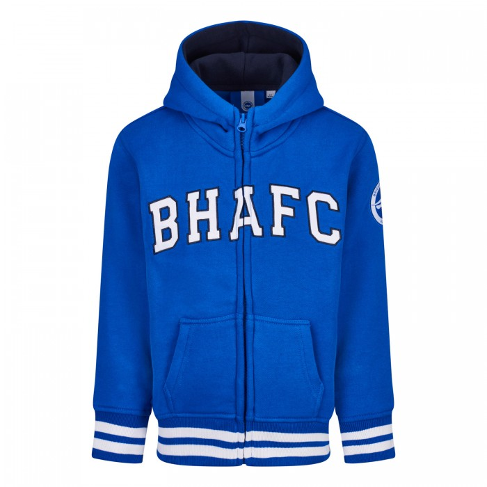 JUNIOR BHAFC ROYAL ZIP HOODIE