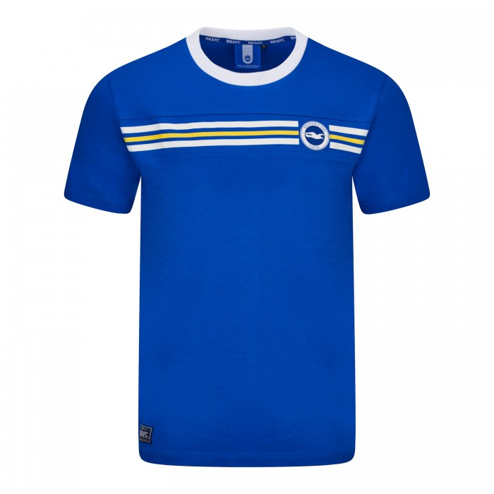 JUNIOR ROYAL CREST YOKE TEE