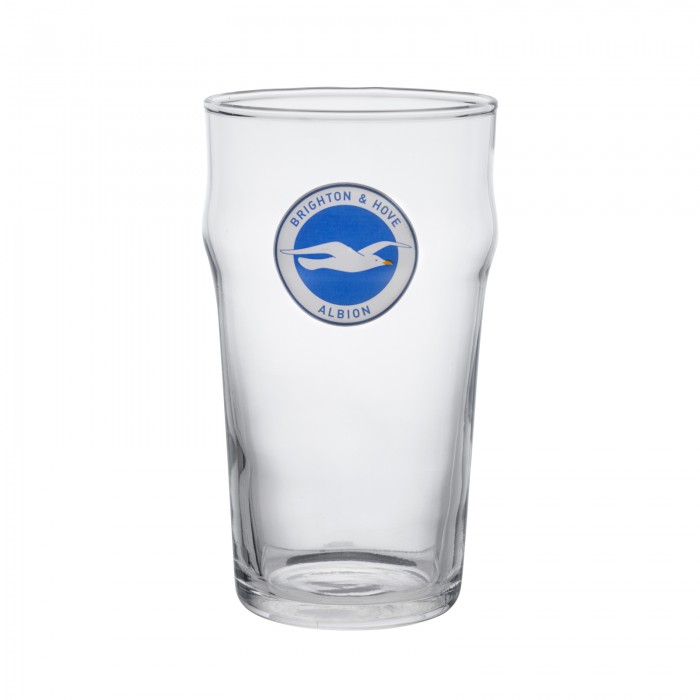 BHAFC PINT GLASS