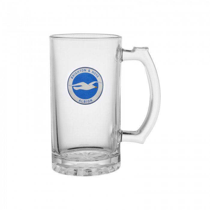 BHAFC PINT TANKARD GLASS