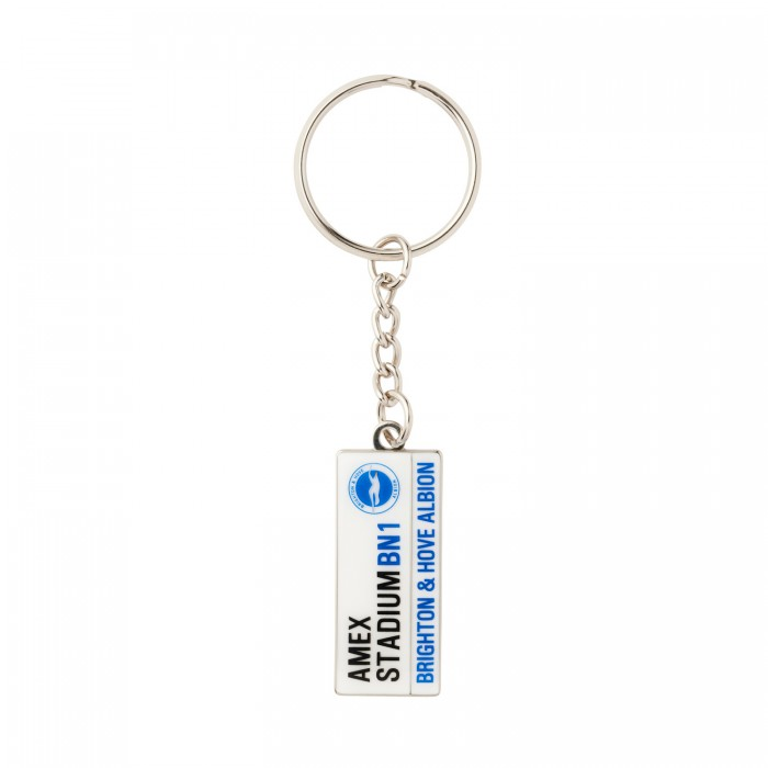 STREET SIGN KEYRING