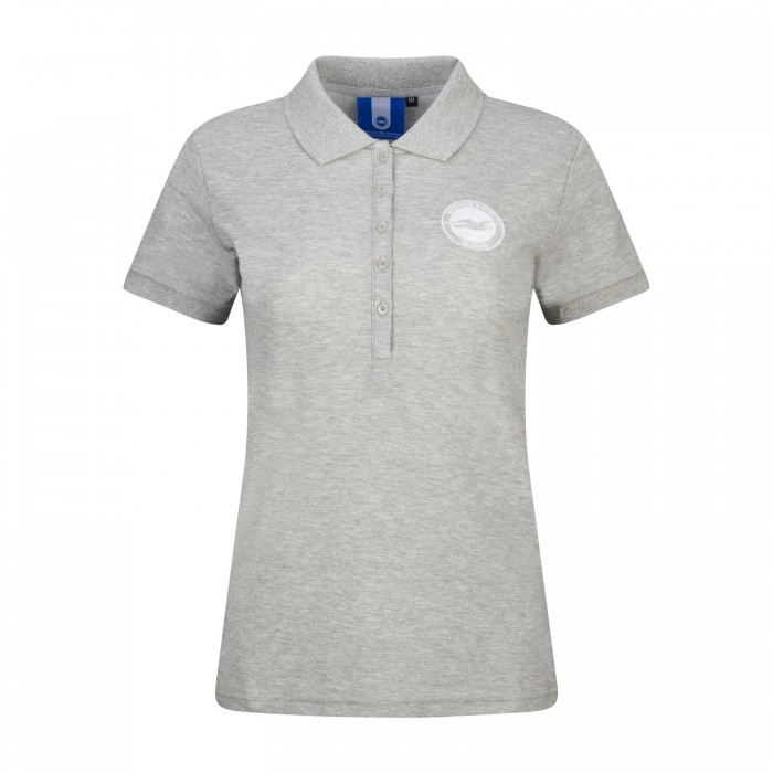 LADIES GREY POLO
